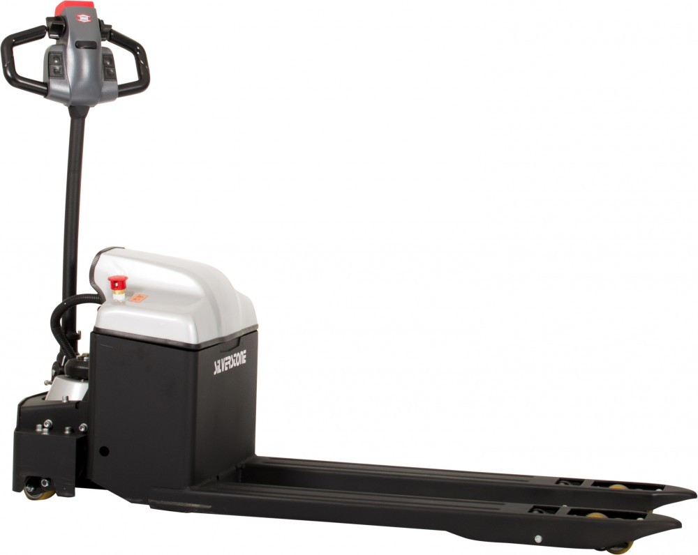 FULL ELECTRIC 2000KG PALLET TRUCK WITH AIR SUSPENSION