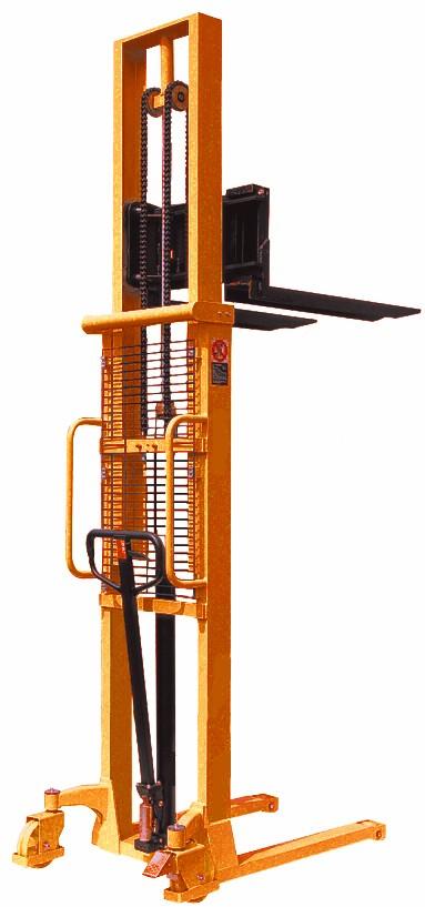 Manual Hand Pump Stacker