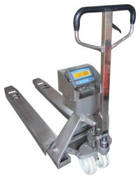 STAINLESS STEEL PALLET TRUCK SCALE
