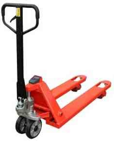 Compact Weigh Scale Pallet Truck