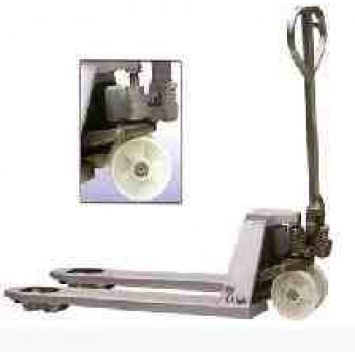 Stainless Steel Hand Pallet Truck - NBSSPT - £961 (Next Day Delivery)