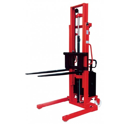Semi-Electric Stacker with Straddle Legs - LTCTES RANGE (2-3 Week Lead Time)