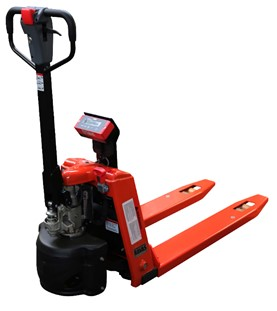 SEMI-ELECTRIC WEIGH SCALE PALLET TRUCK - ERGO1100