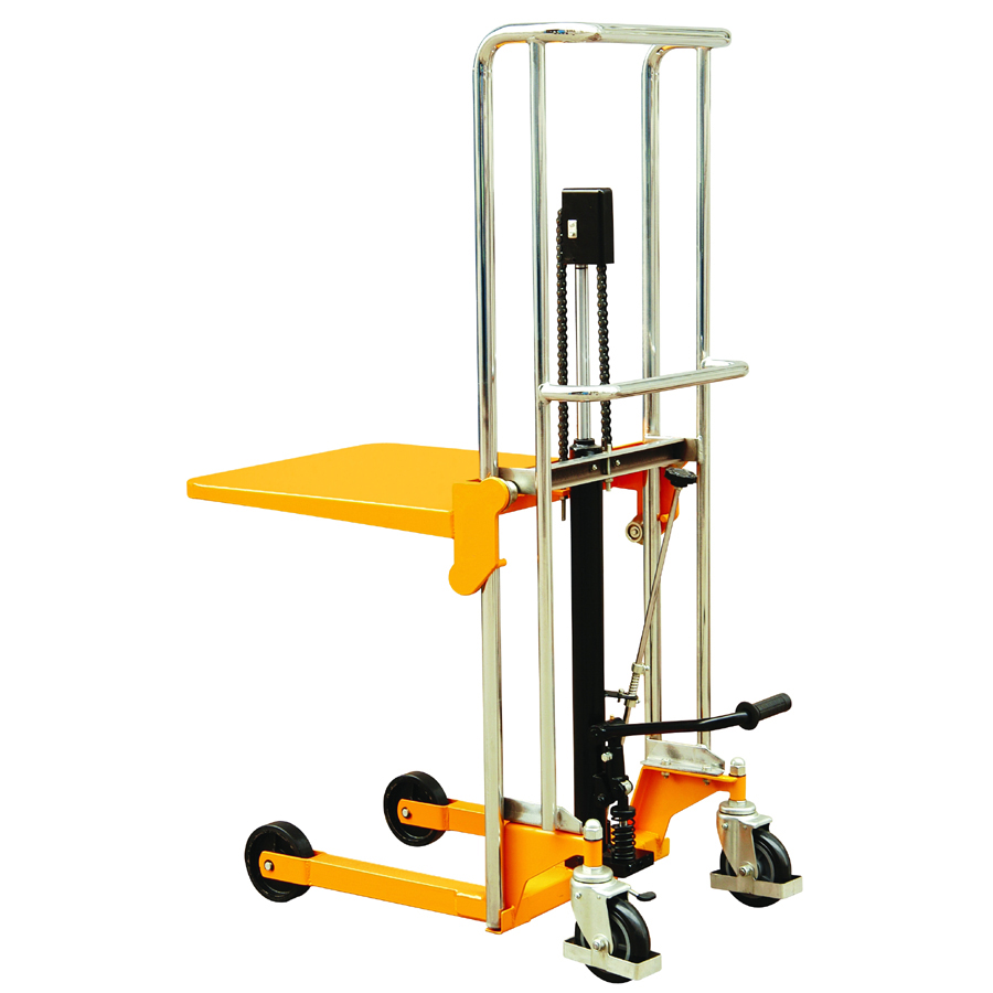MANUAL PLATFORM STACKER